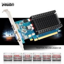 Yeston Radeon R5 230 GPU 2GB GDDR3 64 bit Gaming Desktop computer PC Video Graphics