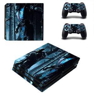 Image 5 - Game Mortal Kombat PS4 Pro Skin Sticker Decal for PlayStation 4 Console and 2 Controllers PS4 Pro Skin Sticker Vinyl