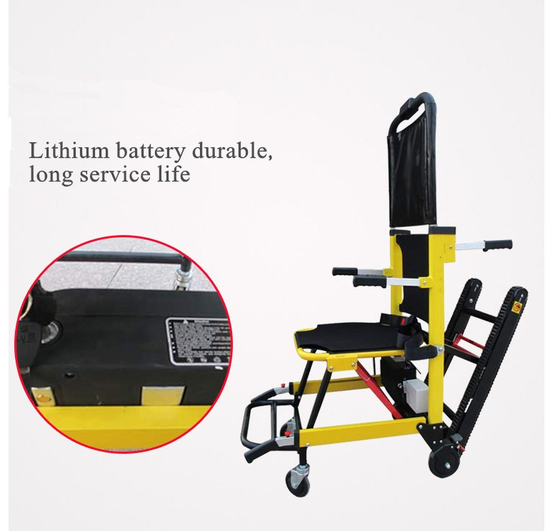 2019 Portable electric folding stairs climbing font b wheelchairs b font for the elderly and font