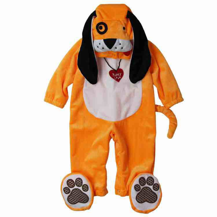 Lovely Animal Halloween Outfit for Baby grow Infant Boys Girls Baby Fancy Dress Cosplay Costume Toddler doggy