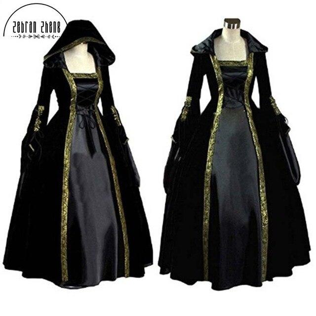 New Arrival Women\'s Medieval Renaissance Victorian Dresses Princess ...