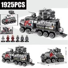 The Wandering Earth CN171 Troop Carrier Military fit  technic city Swat tank Building Blocks Bricks Model toys kid gift
