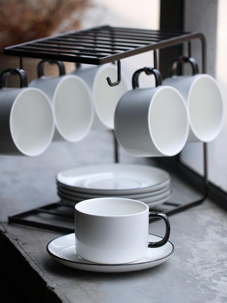 Coffee Cup Set Simple Mugs Afternoon Teacup Tea Set Coffee Set Home European Small Mugs Luxury Set