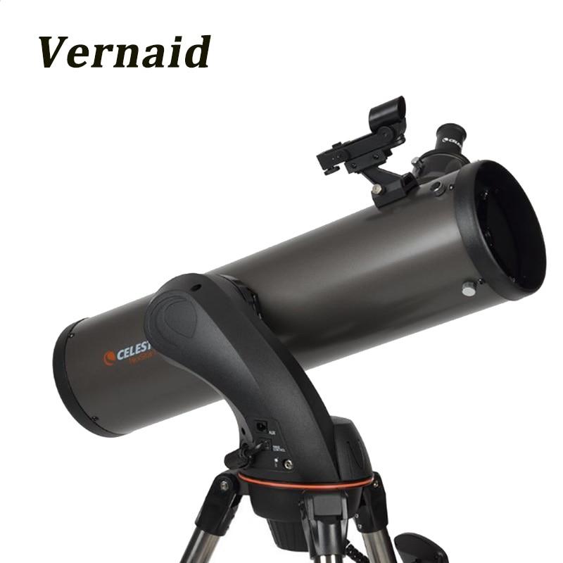 Celestron NexStar 130 SLT Telescope professional star finder with fully computerized hand control Astronomical telescope стоимость