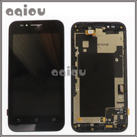 4 5 For ASUS Zenfone Go ZC451TG LCD Digitize Touch Screen Assembly With Frame High Quality