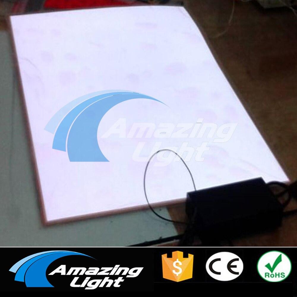 Taille Standard A1 (597*840mm) panneau de rétroéclairage El avec AC80-240V onduleur Livraison Gratuite