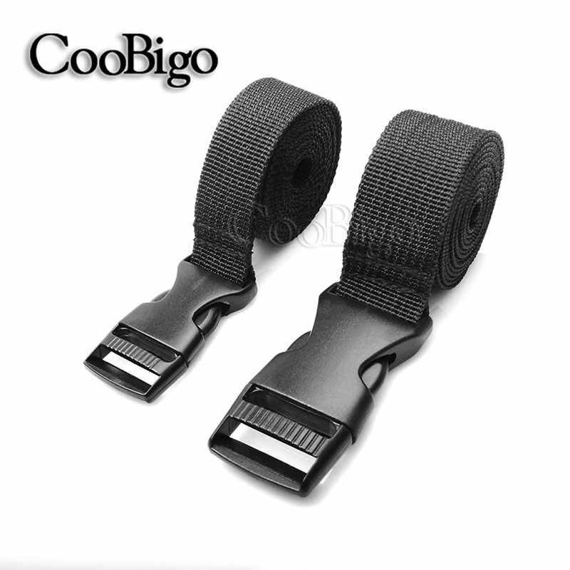 1pcs Tactical Backpack Outdoor Camping Mattress Sleeping Bag Tent Strap Belt Adjustable Buckle Tied Band Travel Accessories