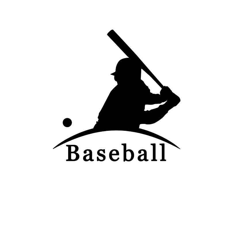 The 2nd Half Price Baseball car sticker Motorcycle  Sticker vinyl full body Home wall window decors car decals Car styling