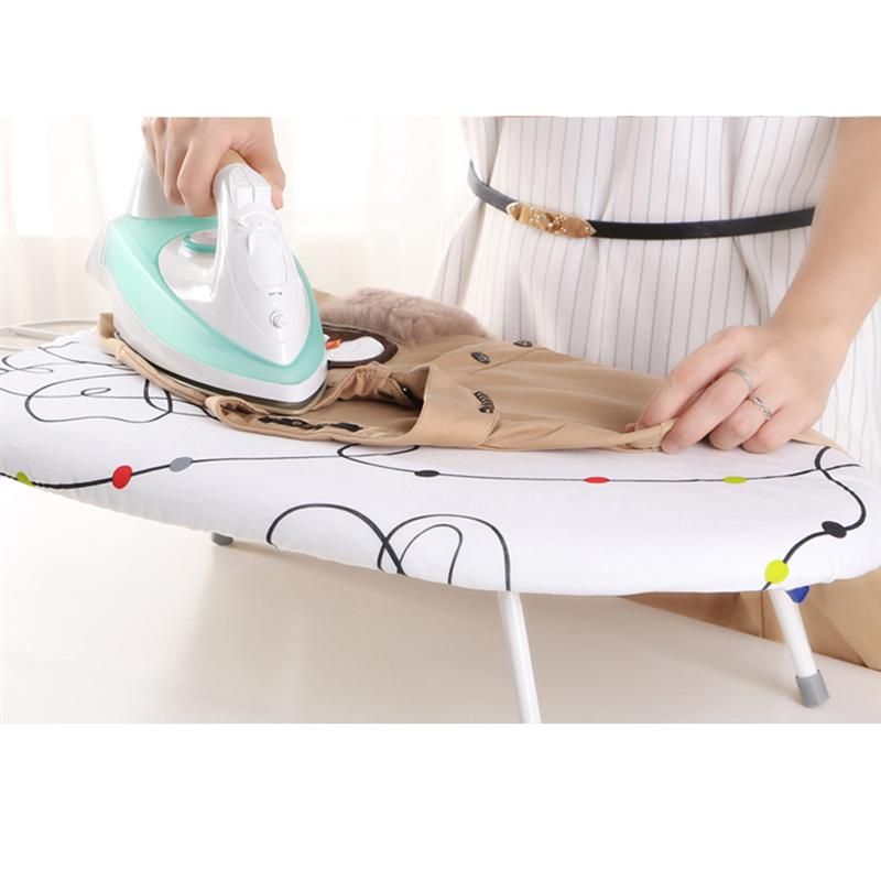 Folding Ironing Board Adjustbale Heat Resistant Space Saving Ironing Board with Breathable Durable Heat Resistant