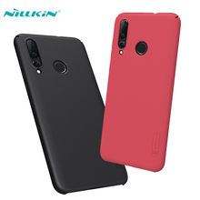 Huawei Nova 4 Case With Gift Holder NILLKIN Super Frosted Shield Plastic Hard Phone Cases For Nova4 Back Covers