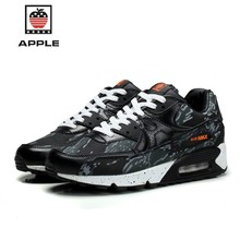 Apple 2018 Men Air Cushion Running Shoes Height Increasing Sneaker Athletic Outdoor Sport Training Shoe krasovki 39-45