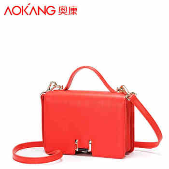 Aokang 2017 new arrival lady handbag one shoulder women bags Euramerican style fashion pattern female handbags free shipping handbag