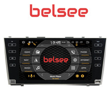 Belsee 9″ IPS screen Octa Core PX5 4GB Android 8.0 Head Unit Stereo Radio Multimedia GPS Navigation for Toyota Camry 2008 2009