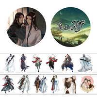 4 cm * 5 m Anime Mo Dao Zu Shi MDZS Washi Tape Klebeband DIY Dekorative Scrapbooking Label Aufkleber