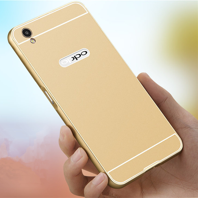 premium selection de69a 10f95 US $3.6 |A37Case For OPPO A37 Bumper Case Metal Aluminum Frame PC Back  Cover Full Protective Cases Cover for A37 OPPO A37 on Aliexpress.com |  Alibaba ...
