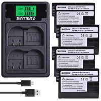 4 pièces EN-EL15 EN EL15 EL15A Caméra Batterie + LCD USB Chargeur Port De Type C pour Nikon D500 D600 D610 D750 D7000 D800 D850 D810