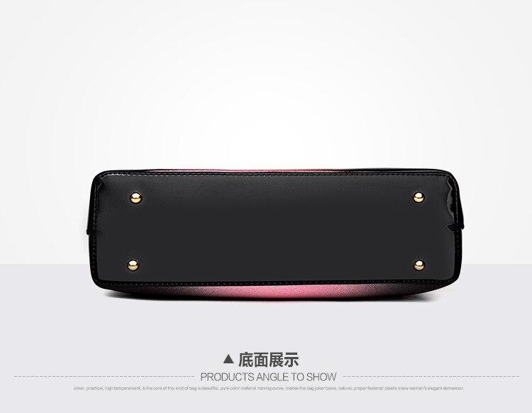 Novo luxo feminina bolsas de couro designer