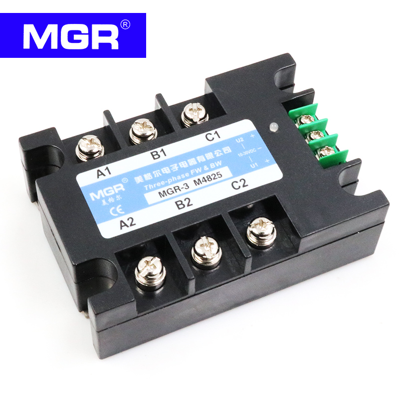 MGR SSR AC Three-phase solid state relay MGR3 M4810 10A single phase solid state relay 220v ssr mgr 1 d4860 60a dc ac