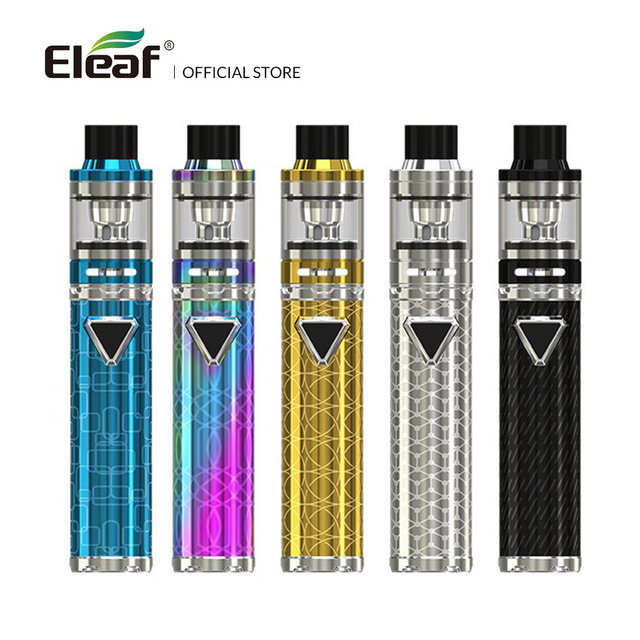 Oryginalny 40W Eleaf iJust ECM zestaw z 3000mAh baterii EC-M EC-N 0 15ohm głowica cewki 2 ML 4ML e cig tanie tanio Z Baterią iJust ECM Kit Cylindryczny Kształt Brak Metal Wbudowany