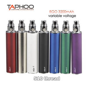 Electronic Cigarette Battery Ecig 510-Thread Ego 3200mah Voltage High-Capacity Variable