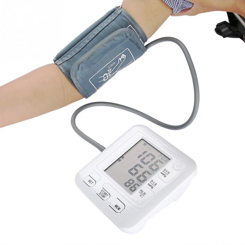 все цены на Intelligent Arm Blood Pressure Monitor Sphygmomanometer Tonometer Digital Upper Arm Rechargeable Blood Pressure Measuring Tool онлайн