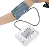 Intelligent Arm Blood Pressure Monitor Sphygmomanometer Tonometer Digital Upper Arm Rechargeable Blood Pressure Measuring Tool