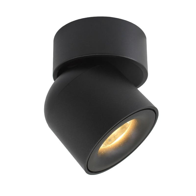 Aisilan led plafond montés sur les murs Downlight Réglable 90 degrés Spot light pour intérieure Foyer, Salon AC 90-260 V - 5
