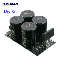 AIYIMA 35A Gelijkrichter filter Board 10000 uf/50 V AC naar DC Audio Versterker Supply Power Board Diy Kits voor 3886 7293 Versterker DIY