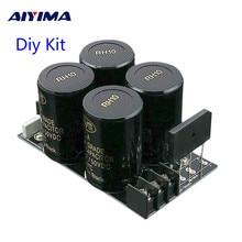 AIYIMA 35A doğrultucu filtre kurulu 10000 uf/50 V AC DC ses amplifikatörü güç kaynağı kurulu Diy kitleri 3886 7293 amplifikatör DIY