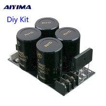 AIYIMA Placa de filtro rectificador 35A, 10000uf/50V CA a CC, amplificador de Audio, fuente de alimentación, Kits Diy para amplificador 3886 7293