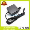 65W 20V 3.25A Type C USB-C адаптер переменного тока зарядное устройство для ноутбука Lenovo ThinkPad P52S T480 T480s T580 X280 X570 E580 E585 A285
