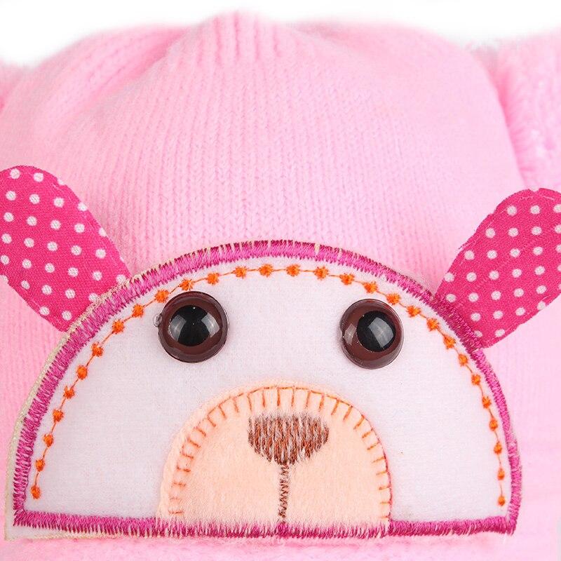 Плюшена шапка за бебешки момичета  - Бебешки дрехи - Снимка 6