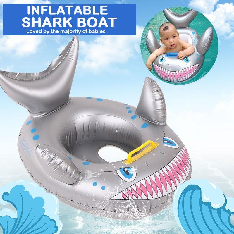 Яхта надувные игрушки плавающая кольцевая лодка для плавания Спортивное образование здоровое развлечение плавательный Прекрасный бассейн игрушка модная