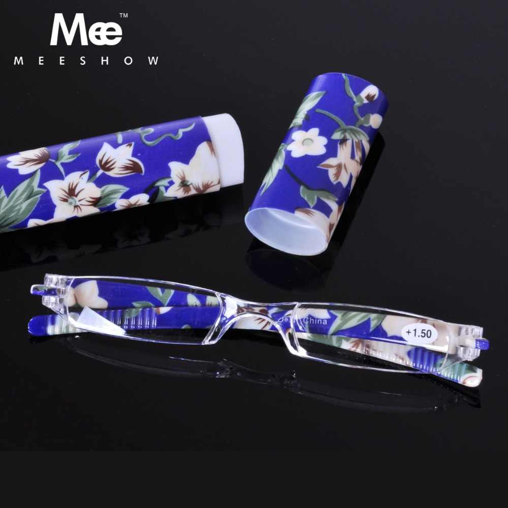 slim mini light reading glasses with case men's glasses mpmen reader glasses with diopter+1.0 +1.5 +2.0 +2.5 +3.0+4.0