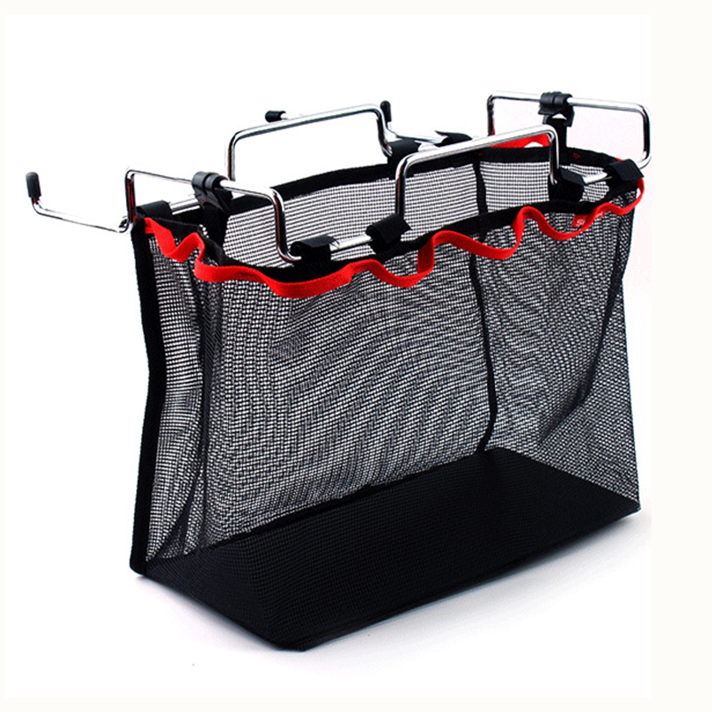 Outdoor Camping Wire Rack Portable Storage Bag Picnic Table Barbecue ...