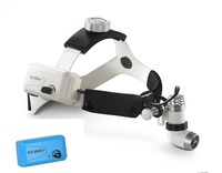KD 202A 7 3W LED Surgical Medical Head Light Lamp Headlight All in one Spot Brightness Adjustable with 2PCS batteries