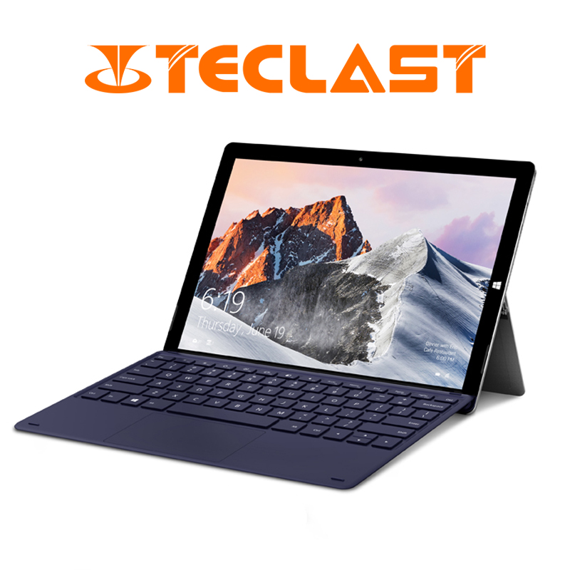 Teclast X6 Pro 2 em 1 Tablet Intel M3-7Y30 8 GB de RAM 256 GB SSD 12.6 Polegada 1920*2880 FHD IPS Tela Sensível Ao Toque Windows 10 Tablet USB3.0