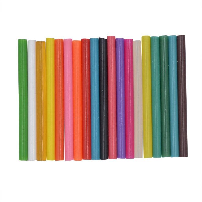 10pcs 7x100mm Clear Colorful Hot Melt Glue Sticks For Glue Gun High Viscosity Adhesive Repair Tool DIY Art Craft Hand Tool