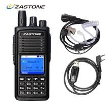Zastone ZT-D900 DMR Digital Walkie Talkie VHF 136-174MHz 1000CH 2000mAh 5W with Programming Cable Headsets Two Way CB Ham Radio