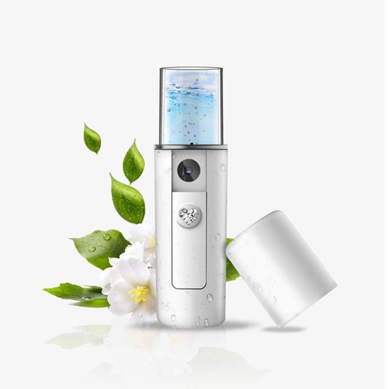 Handy Mist Sprayer Facial Body Nebulizer Steamer Face Skin Care Mini USB Nano Moisturizing Spray Beauty Instrument
