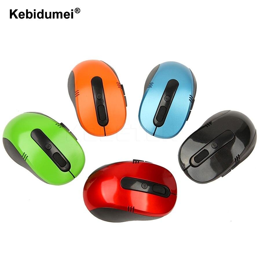 Kebidumei 2.4 ГГц оптический Беспроводной Мышь Беспроводной USB Кнопка игровая Мышь игровой Мыши компьютерные компьютер Мышь для портативных ПК видео игры