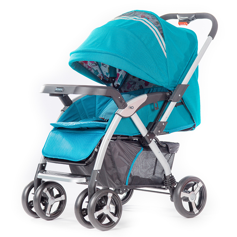 Hebao 703 baby cart can sit, lie down, multifunction, convenient and foldable.