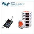 Sistema de Paginación Restaurante Wireless Buzzer AC-CTP910 (1 Teclado + 10 Pagers montaña + 1 Base de Carga)