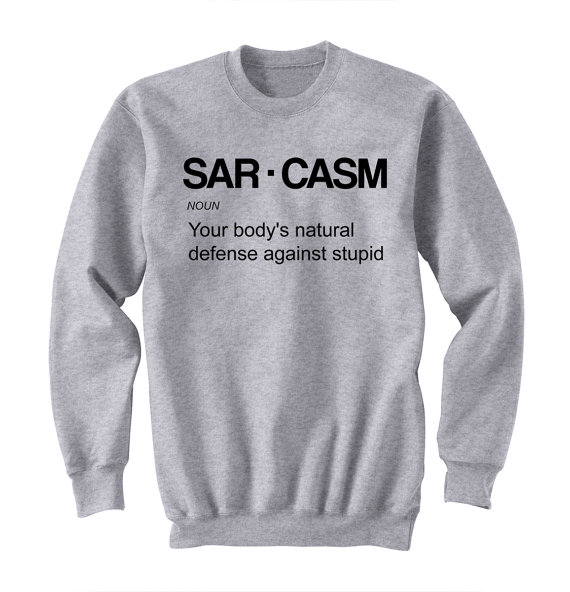 SAR.CASM Unisex Tumblr Shirt Gifts for Teen boys Girls pullovers Fashion Trending Hipster Instagram Tops sweatshirts ...
