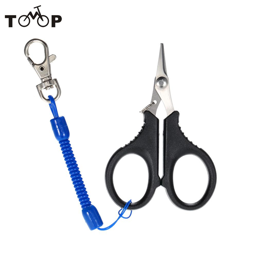 Stainless steel fishing pliers scissors fishing tackle for Steel fishing line