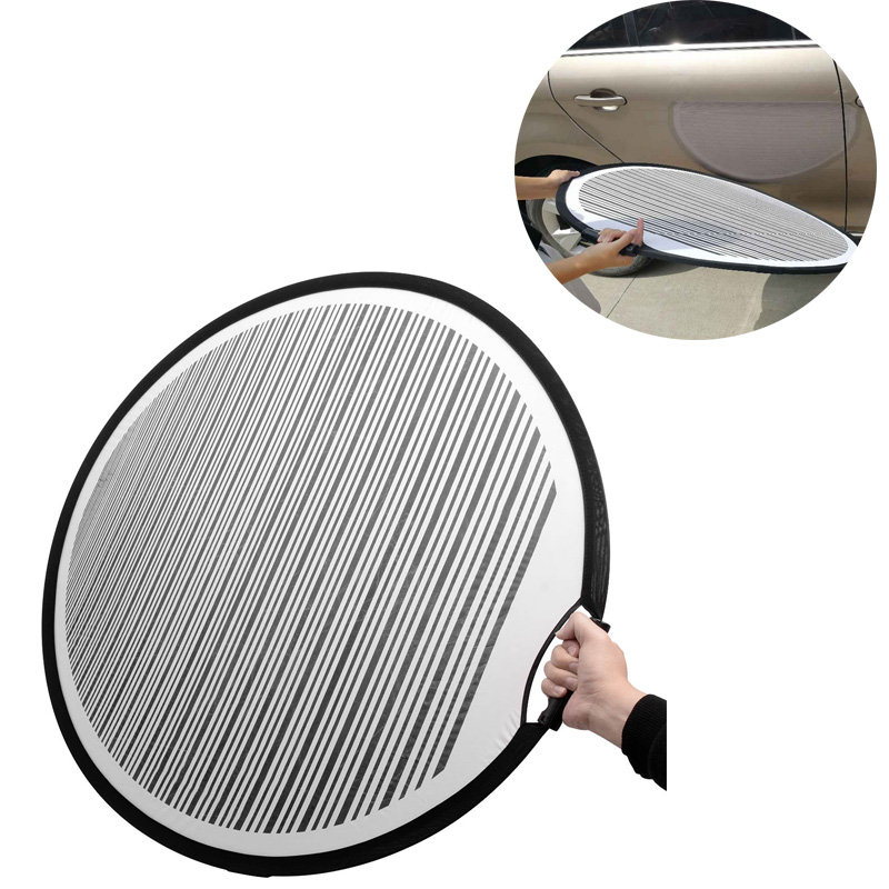 WHDZ Dent Foldable PDR Lined Dent Reflector Board Cloth Reflector Line Board  Scratch For Dent Remover Automotive PDR Tools Kit