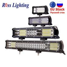 9 34 calowy światło terenowe LED Bar lampa robocza 288W 324W automatyczne światło LED Bar dla ciągnika łódź 4WD 4x4 ciężarówka SUV ATV LED