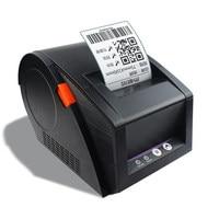 2016 gp3120tu etiqueta impressora de código de barras impressora de etiquetas térmica 20mm a 82mm térmica impressora de código de barras vestuário impressora de etiquetas