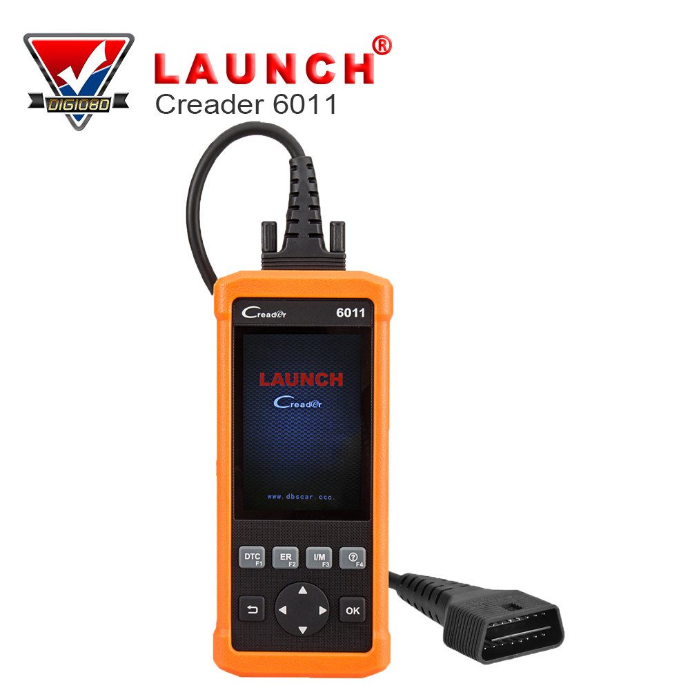 Launch CReader 6011 OBD2/EOBD Diagnostic Scanner with ABS and SRS System Diagnostic Functions launch x431 easydiag 2 0 for android ios 2 in 1 auto diagnostic tool launch easydiag update by launch website eobd obd scanner