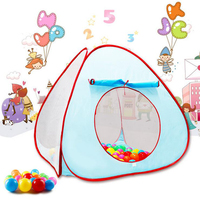 Funny Gadgets Children Tent Toys Indoor Outdoor Games Ocean Ball Tent Pit Pool Folding Portable Large